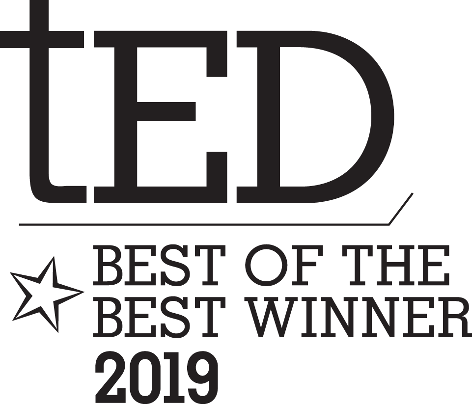 tED Magazine Best Of The Best Award - 2019