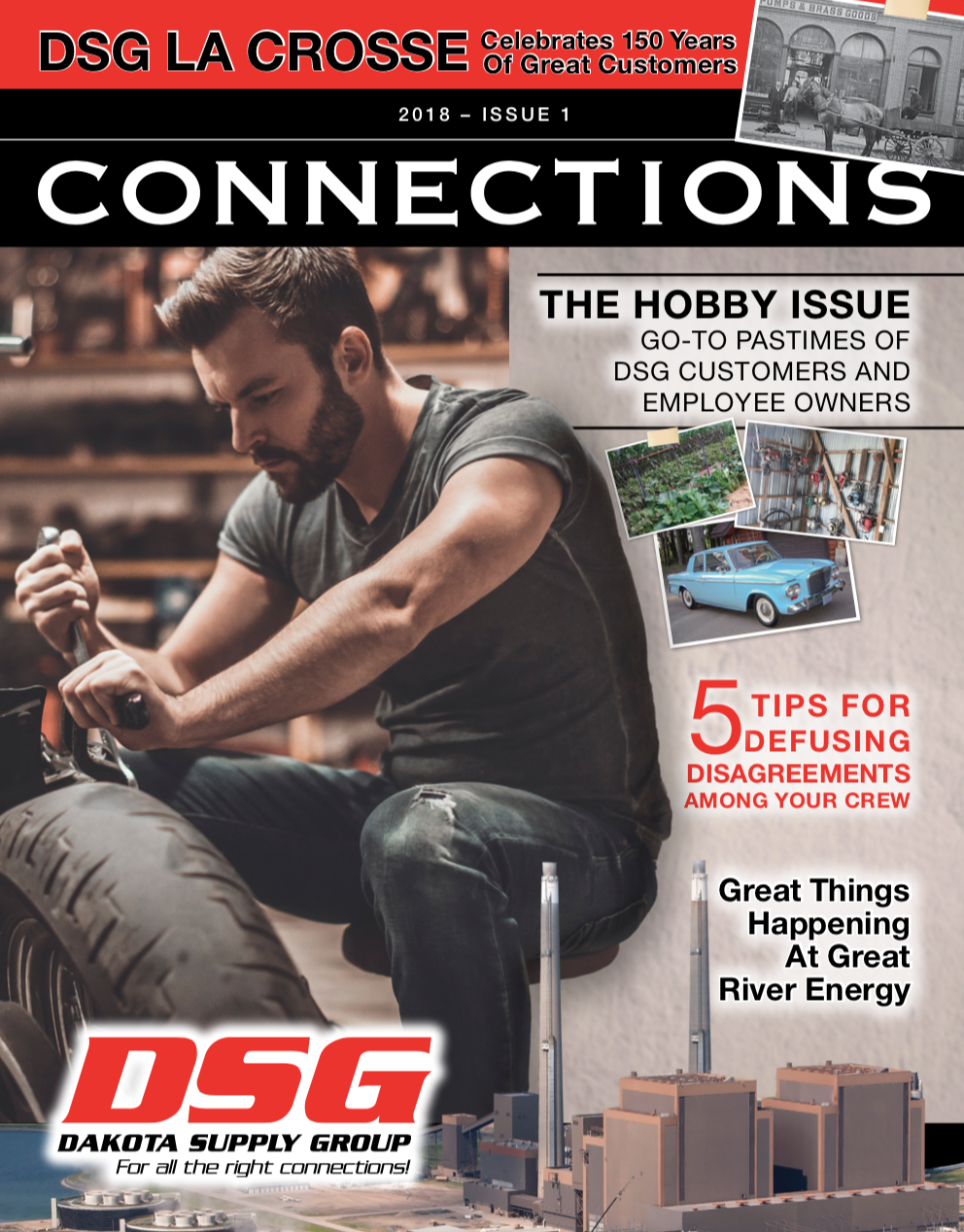 DSG Connections Magazine - 2018 Issue 1