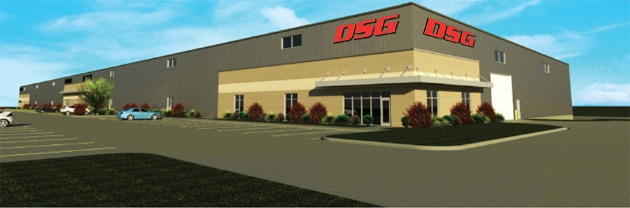 Rendering of New DSG Facility in Sioux Falls, SD