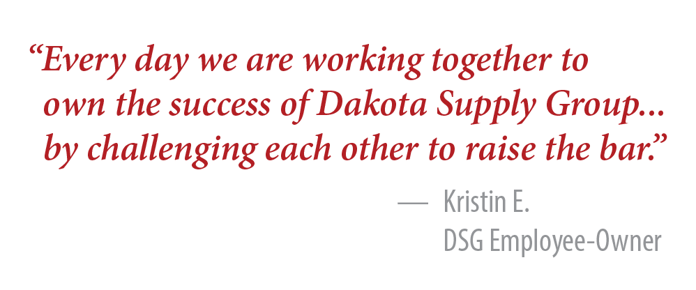 Working Together at DSG!