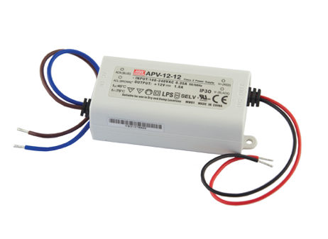 Diode LED DI-0904-LPS LO-PRO® Junction Box and Driver Combo - 12V DC Constant Voltage Driver, Class 2, 20W