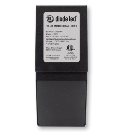 Diode LED DI-0956 24V DC Magnetic Dimmable Driver, Class 2, 96W