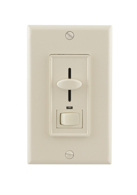 Diode LED DI-1150-LA REIGN® Wall Mount LED Dimmer - Button Slide, Light Almond