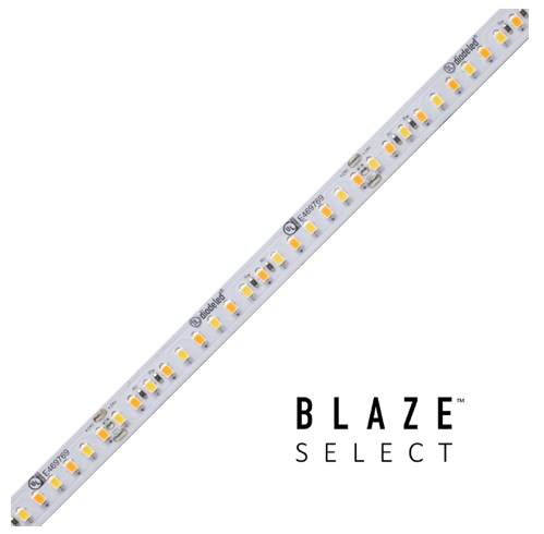 Diode LED DI-24V-BLSEL-TW2460-100 BLAZE™ SELECT LED Tunable White Tape Light, 24V, 2400K-6000K, 100 ft. Spool