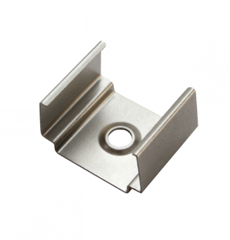 Diode LED DI-CPCH-UC-BA CHROMAPATH® U-Clip, SLIM, Aluminum - Set of 2 Clips & 4 Screws