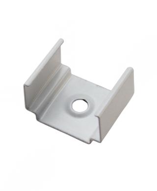 Diode LED DI-CPCH-UC-WH CHROMAPATH® U-Clip, SLIM, Satin White - Set of 2 Clips & 4 Screws