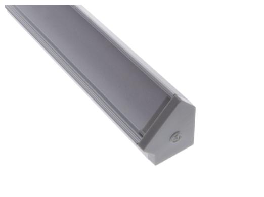 Diode LED DI-CPCHA-4548 CHROMAPATH® Builder Channel, 45°, 48 in.- Bundle
