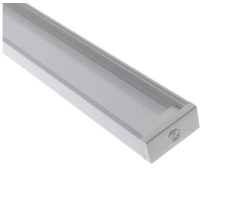 Diode LED DI-CPCHA-SL96W CHROMAPATH® Builder Channel, SLIM, White Finish, 96 in.- Bundle