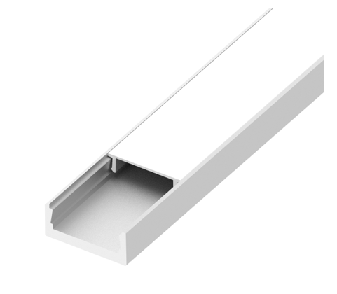 Diode LED DI-CPCHC-FR48 CHROMAPATH® Channel Cover, Frosted, 48 inch – 1 Cover
