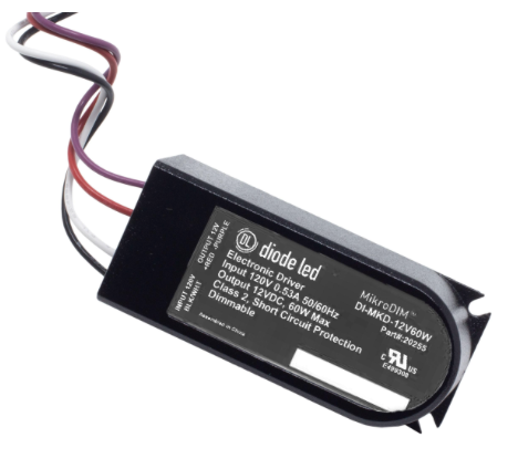 Diode LED DI-MKD-24V60W MikroDim™ Electronic Dimmable Driver - 24V, 60W