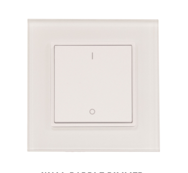 Diode LED DI-RF-WPD-DIM-1 TOUCHDIAL™ Paddle Dimmer - Single Zone
