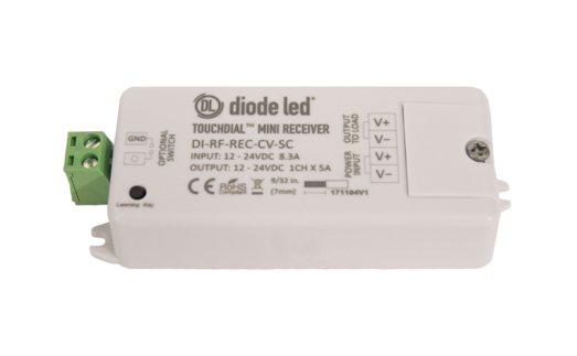 Diode LED DI-RF-REC-CV-SC TOUCHDIAL™ Mini Receive - Single Channel and Zone