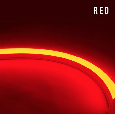 Diode LED DI-24V-SE-NBL1-RD-65 NEON BLAZE™ 24V Linear LED Light, Side Emitting, 1.2W/ft, Red, 65.6ft spool
