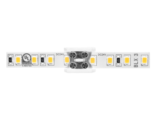Diode LED DI-TB12-CONN-TTT-1 12mm Tape Light, Tape-to-Tape terminal block, clear, single (1) pack
