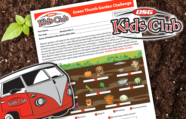 DSG Kids Club - Green Thumb Garden Challenge