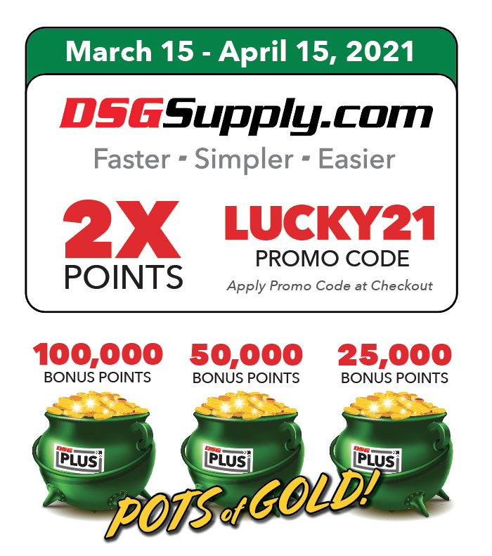 DSG Plus Pots of Gold Promo