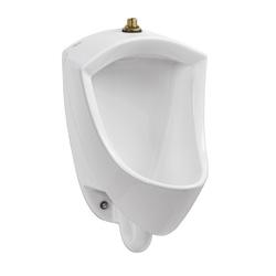 American Standard 6002001.020 Pintbrook™ Urinal, 0.125/0.5 gpf, Top Spud, Wall Mount, White, Import
