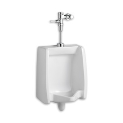 American Standard 6501.511.020 Washbrook™ Washout Urinal, Elongated, 0.125/1 gpf, Top Spud, Wall Mount, White, Domestic