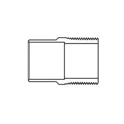 1 x 2 Copper Male Adapter CXMPT Wrot
