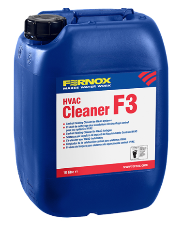 F3 - Universal cleaner, that can be used for pre-commissioning new installations as well as removing sludge and limescale from existing systems 2.6 Gallons